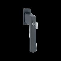 Hoppe Window handle Austin black lockable