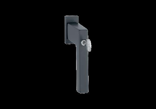 Black HOPPE window handle Austin lockable