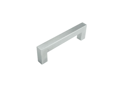 STAINLESS STEEL FURNITURE HANDLE CUBICA 12 / 96MM