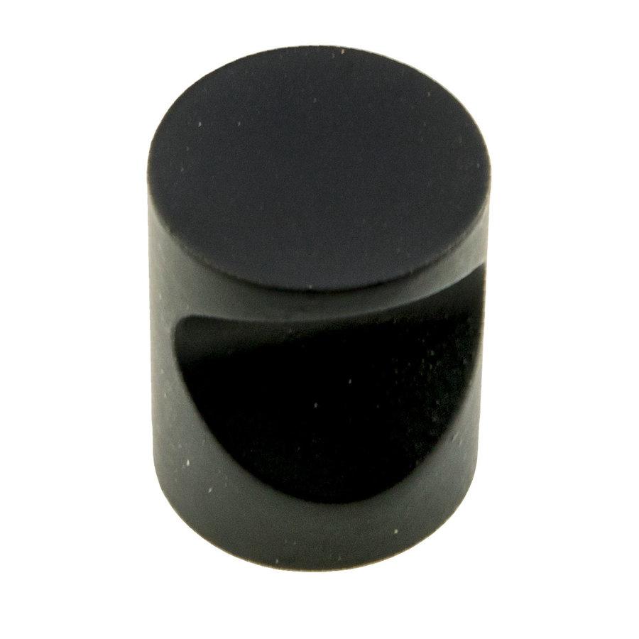 Meubelknop D20 zwart
