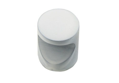 FURNITURE KNOB D20 WHITE
