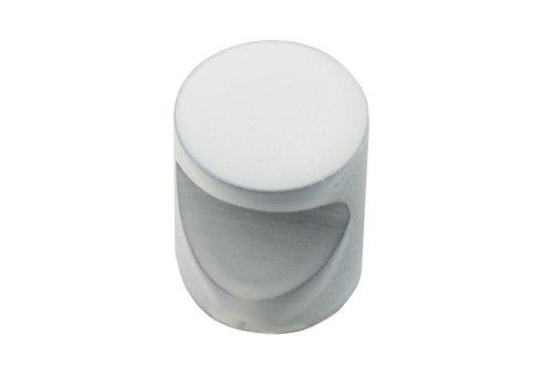 White furniture knob D20