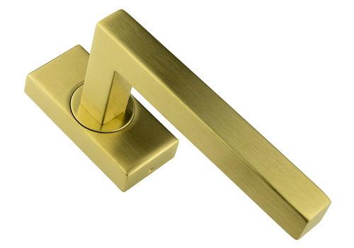 Window handle Kubic 16mm matt copper