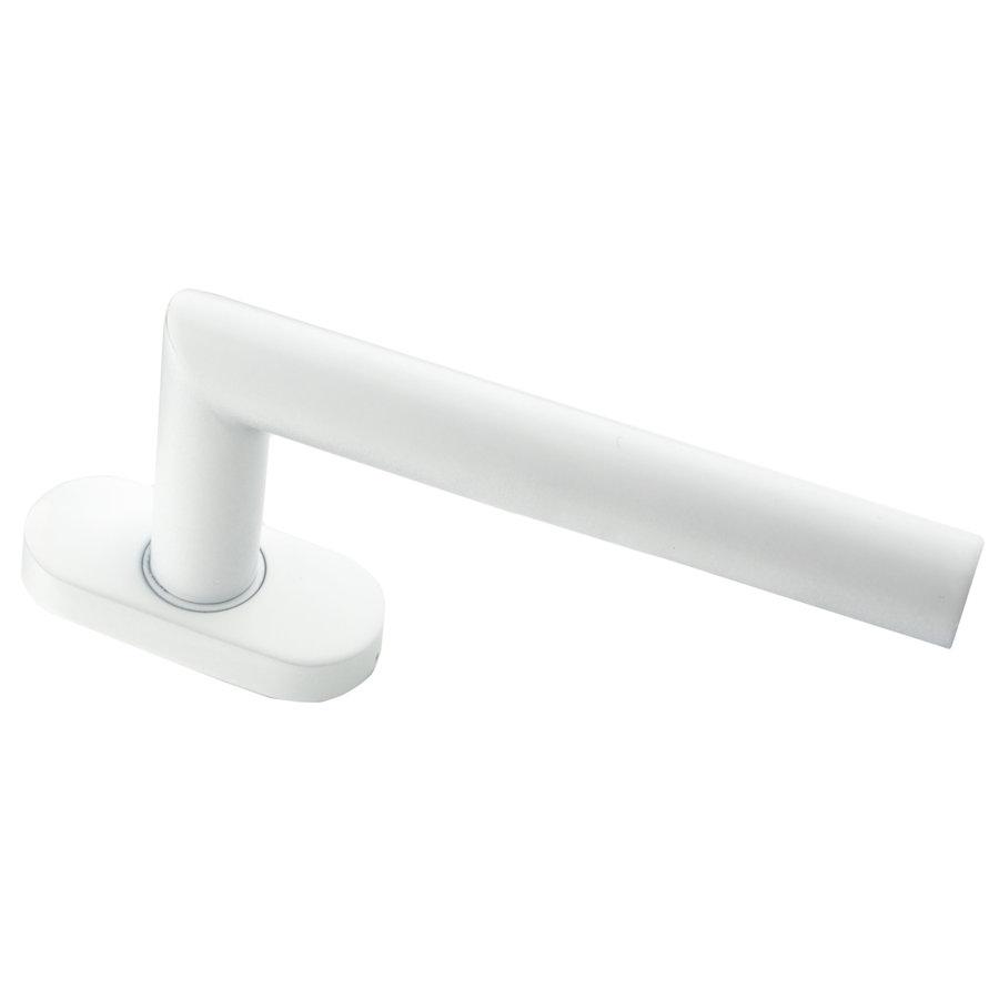 Witte raamkruk I Shape 19mm