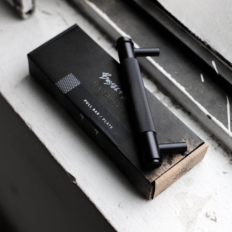 Zwarte meubelgreep / klein / 160mm / Buster&Punch