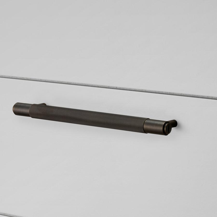Smoked Bronze meubelgreep / klein / 160mm / Buster&Punch
