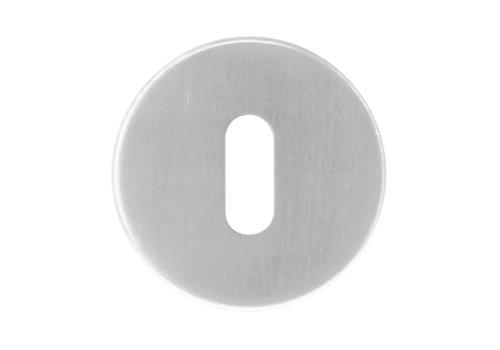 1 plaque clé en acier inoxydable