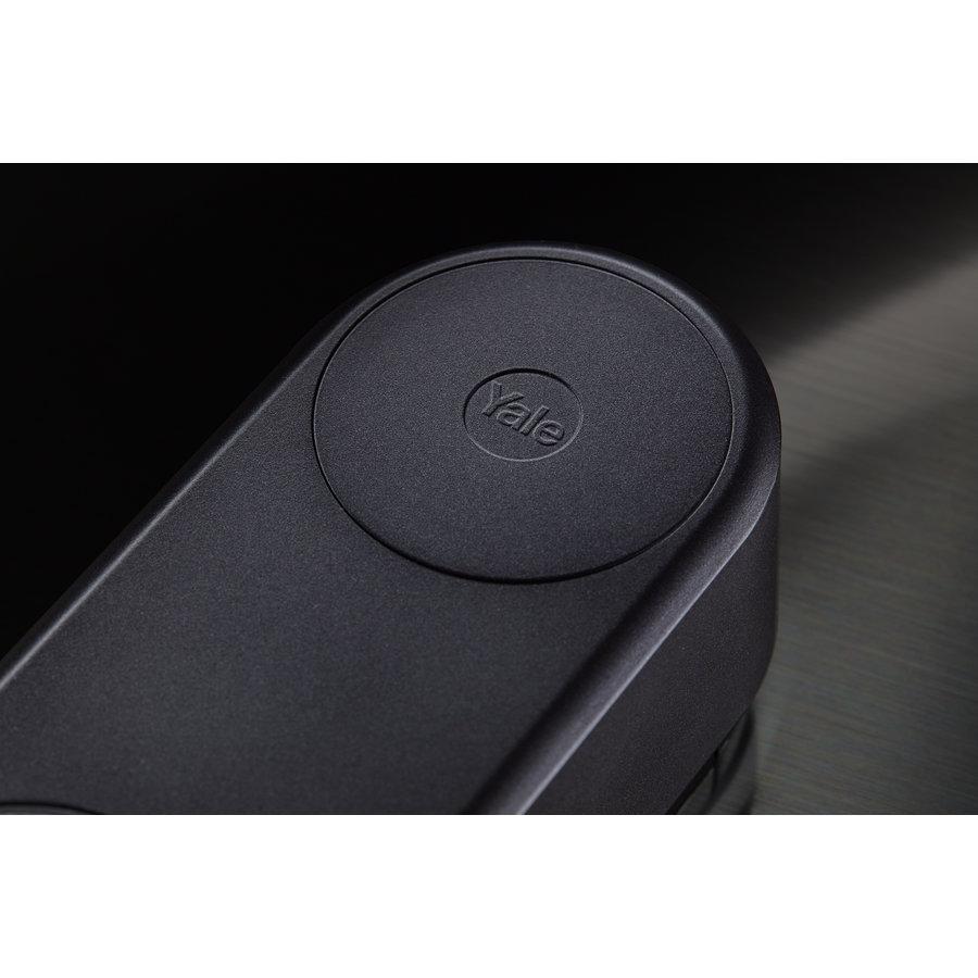 Yale Linus® slim deurslot mat zwart
