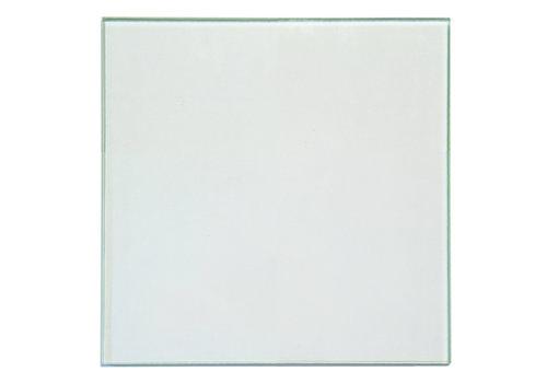 GLASS RETERO SQUARE CLEAR 540X540X6MM LAYERED