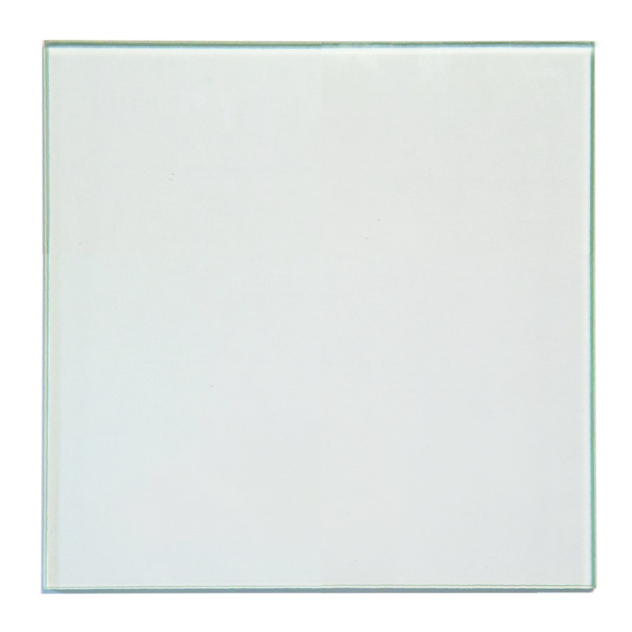 GLAS RETERO VIERKANT DOORZICHTIG 540X540X6MM GELAAGD