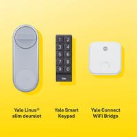 Yale Linus® slim deurslot zilverkleurig