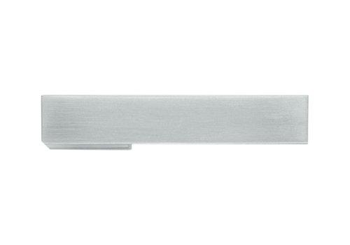 Door handle X-treme stainless steel look no key