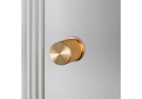 Doorknob / Cross / Brass