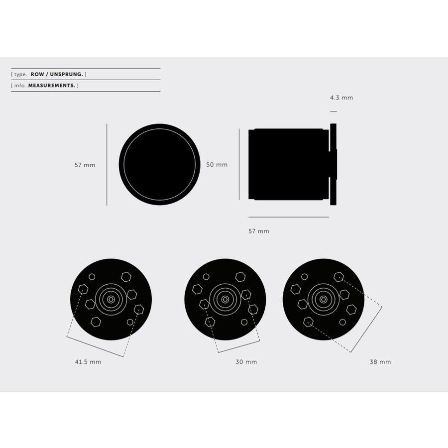 Deurknop / Cross / RVS / Buster + Punch