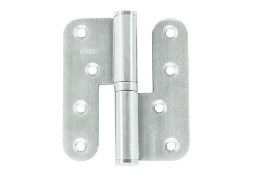 Paumelle 100x88x3,5mm stainless steel 201 left
