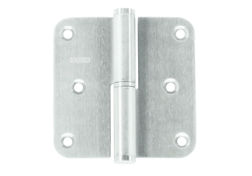 Paumelle 76x76x2.5 stainless steel 201 right