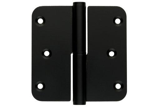 Black hinge 89x89x2,5mm Right