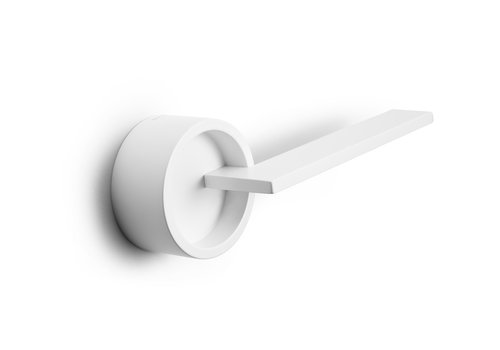 DND DOOR HANDLE TIMELESS WHITE + NO KEY