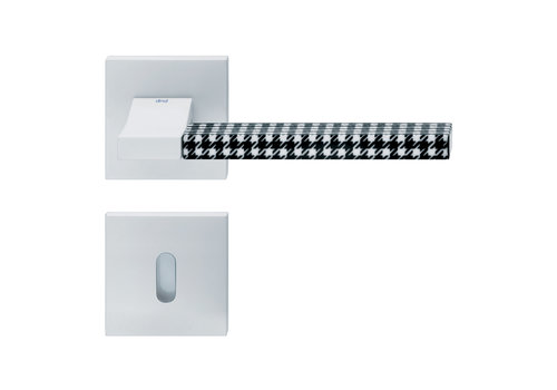 DnD white door handles 'CHANGE02+INS06' with BB