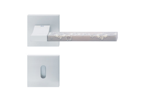 DnD white door handles 'CHANGE02+INS10' with BB