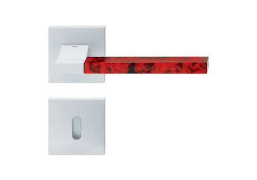 DnD white door handles 'CHANGE02+INS12' with BB