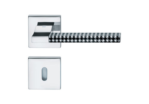 DnD Polished Chrome Door Handles 'CHANGE02+INS06' with BB