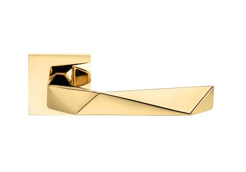 DnD deurklinken LUXURY 02 warm goud PVD zonder BB