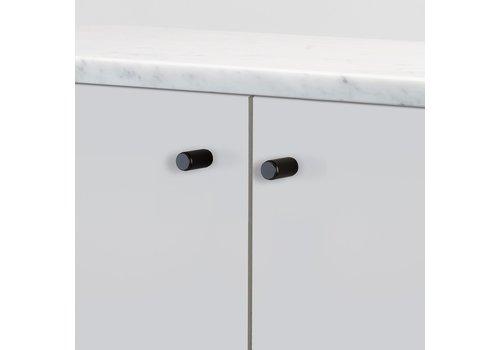 Paire de boutons de meuble Buster + Punch linéaire noir
