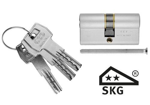 AGB cylinder veiligheid RVS look SKG**