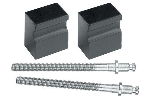 Black knob 'Top X-treme' pair door> 30mm