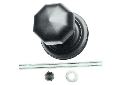 Black button 'Top 804' matt black
