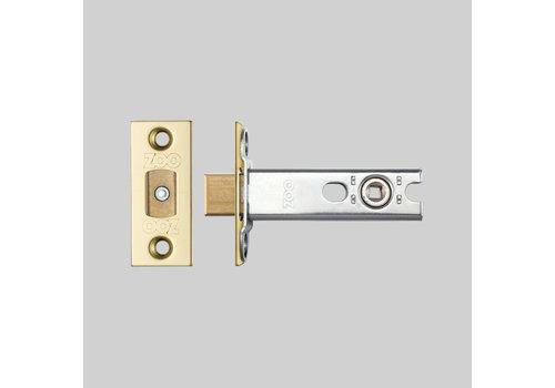 Messing Toilettenschloss 25x60mm - Dorn 57mm - Stiftloch 5x5mm