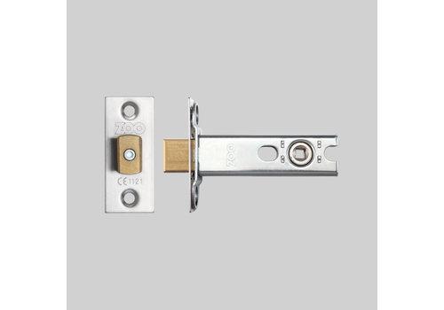 Edelstahl-Toilettenschloss 25x60mm - Dorn 57mm - Stiftloch 5x5mm