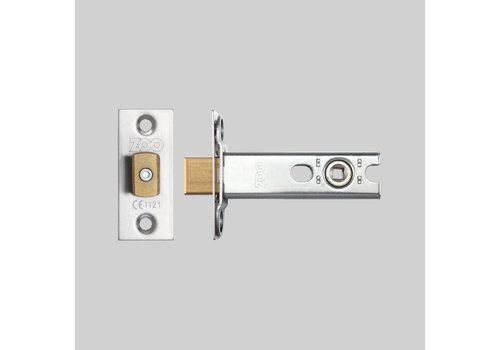 Stainless steel toilet lock 25x60mm - mandrel 57mm - pin hole 5x5mm