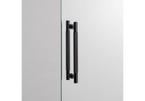 Zwarte Dubbele deurgreep van Buster&Punch