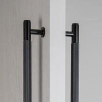 Dubbele zwarte deurgreep van Buster&Punch 275mm
