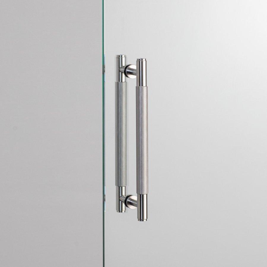 Dubbele deurgreep van Buster&Punch uit massief RVS