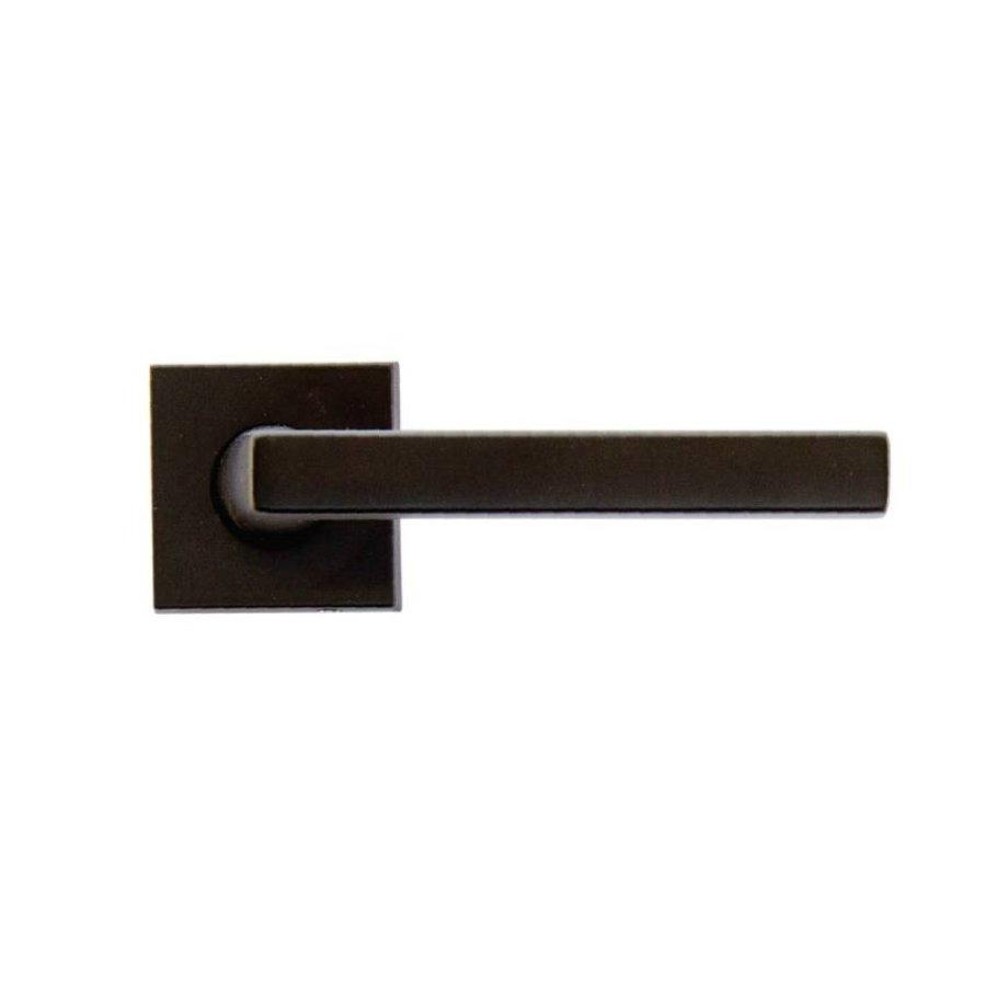 Zwarte deurklinken Luïs zonder sleutelplaatjes
