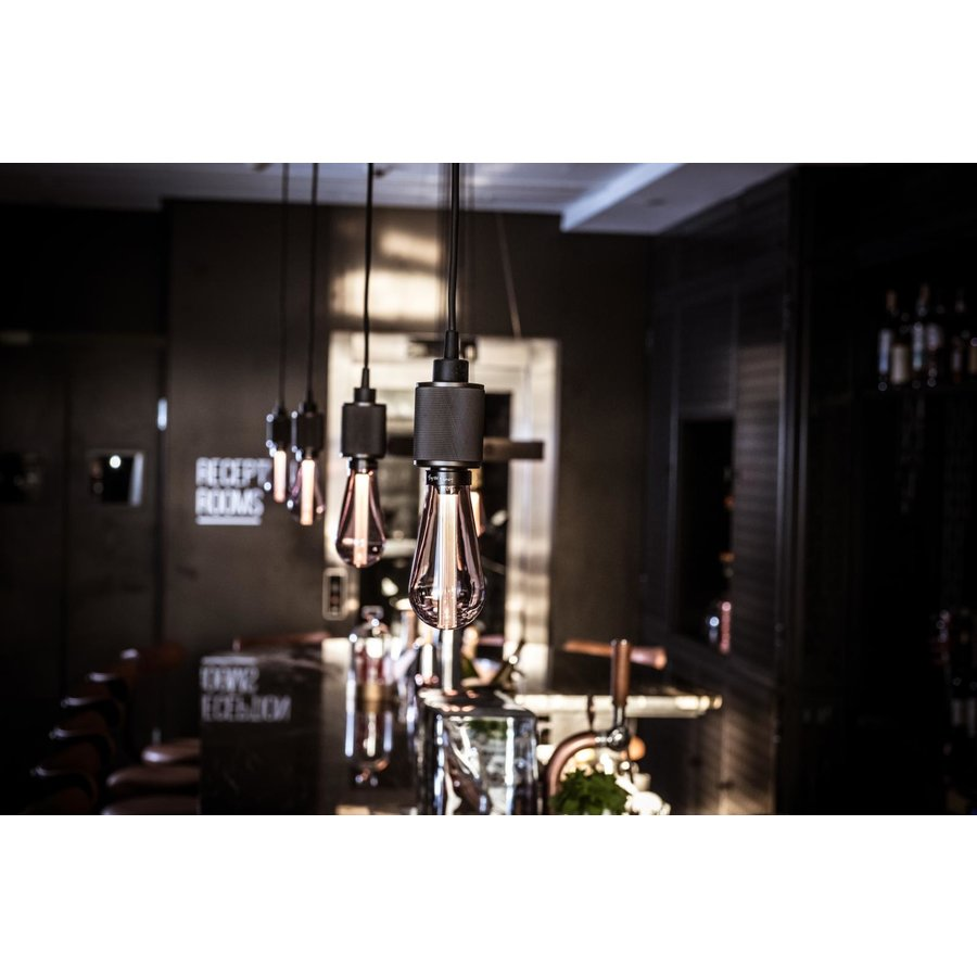 BUSTER LED LAMP / SMOKED / E27 / DIMBAAR