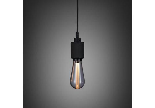 LAMPE À PENDENTIF / MÉTAL LOURD / NOIR