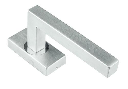 Stainless steel window handle Kubic shape 16mm
