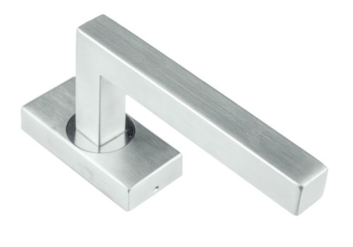 Stainless steel window handle Kubic shape