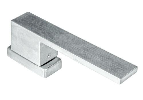 Window handle X-treme stainless steel look