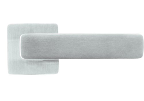 Solid stainless steel door handles 'Rondi' without BB