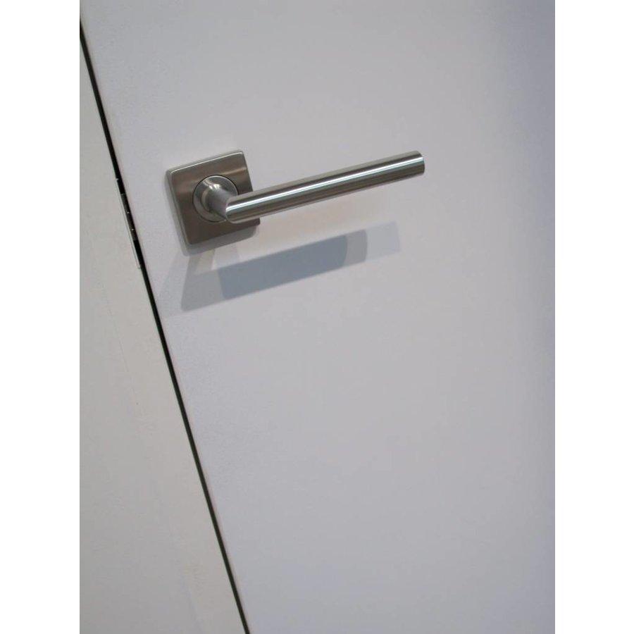 RVS deurklinken Square I shape 16 mm No key
