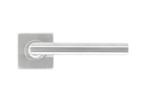 Stainless steel door handles Square I shape 16 mm No key