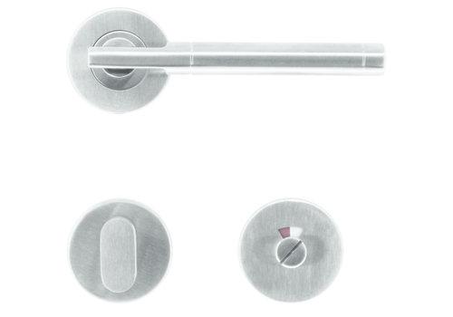 Door handles Pluto stainless steel plus + toilet