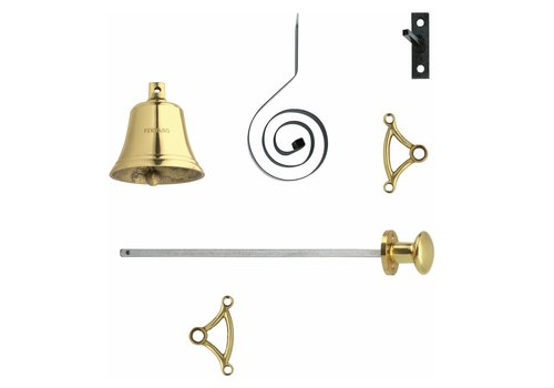 Intersteel Pull bell brass lacquered