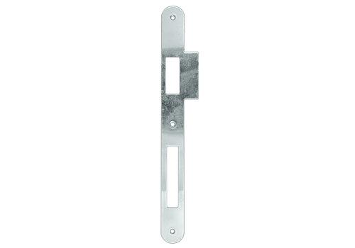 Runde Gegenplatte für AGB Lock Nickel