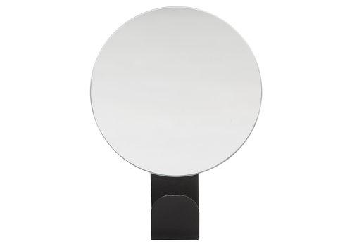 Crochet en peau de phoque avec miroir Brix noir